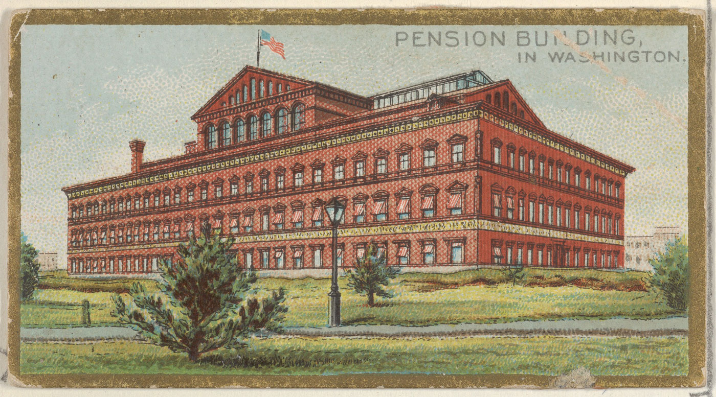 Pension Building_MET Collection Allen & Ginter
